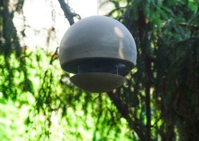 Spherina Air in Beton, grau, im Freien