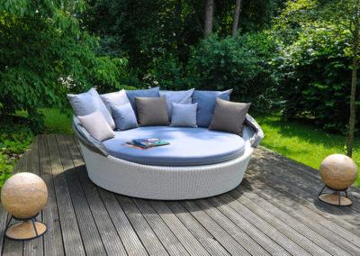 Sphere 360 Lautsprecher als Designelement